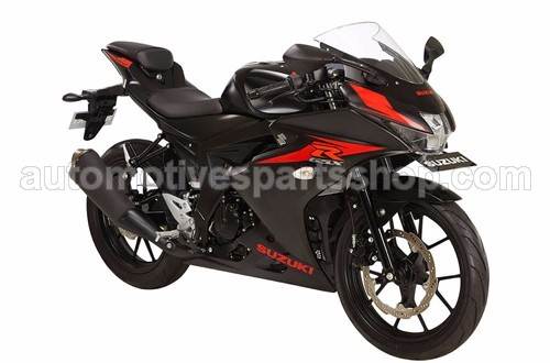 GSX R150 SOLID BLACK