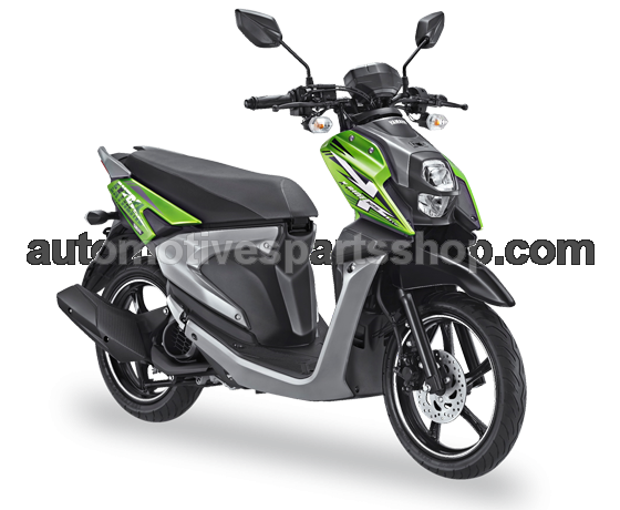 XRIDE 125 BLUE CORE EXPLORER GREEN