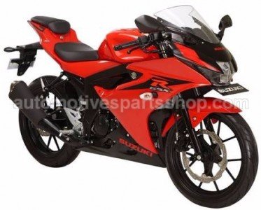 GSX R150 STRONGER RED