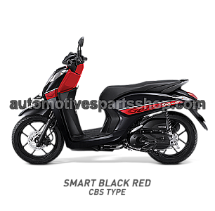 HONDA GENIO SMART BLACK RED