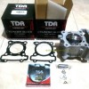 180cc TDR CERAMIC NICASI BORE UP CYLINDER KIT - FORGED PISTON