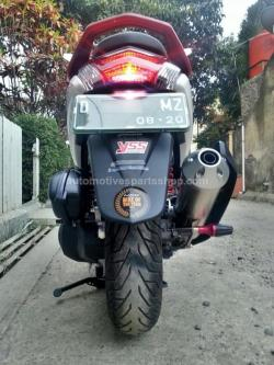 AMP SX SERIES SILENT POWER BOOM EXHAUST for YAMAHA NMAX / MBK OCITO