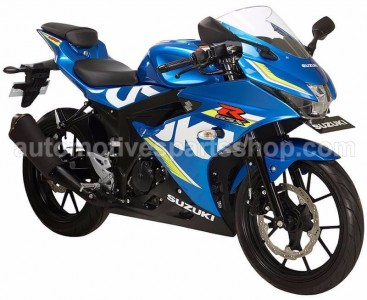 GSX R150 METALLIC BLUE MOTOGP